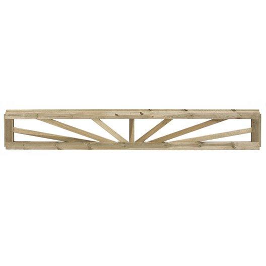 lame d corative en bois embo ter charme naturel x cm x mm leroy merlin. Black Bedroom Furniture Sets. Home Design Ideas