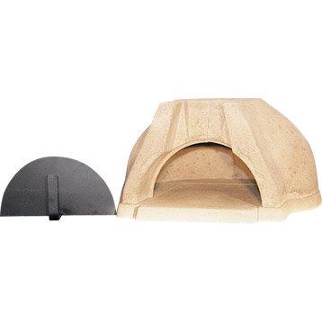 Four à pizza, à pain, au feu de bois, Modele 2061, l.75 x L.82 x H.38 cm