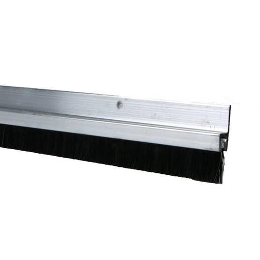 bas de porte visser brosse axton cm aluminium. Black Bedroom Furniture Sets. Home Design Ideas