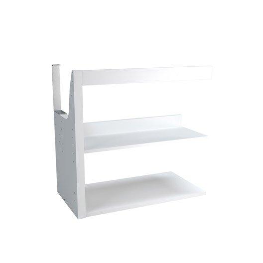 rallonge pour meuble sous vasque x x cm remix leroy merlin. Black Bedroom Furniture Sets. Home Design Ideas