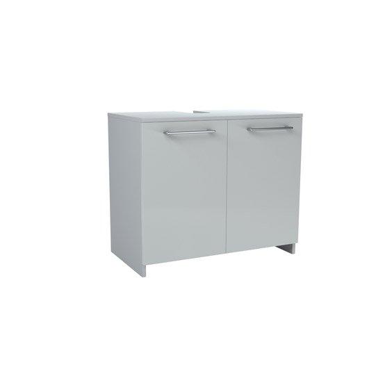 meuble sous lavabo x x cm blanc remix. Black Bedroom Furniture Sets. Home Design Ideas