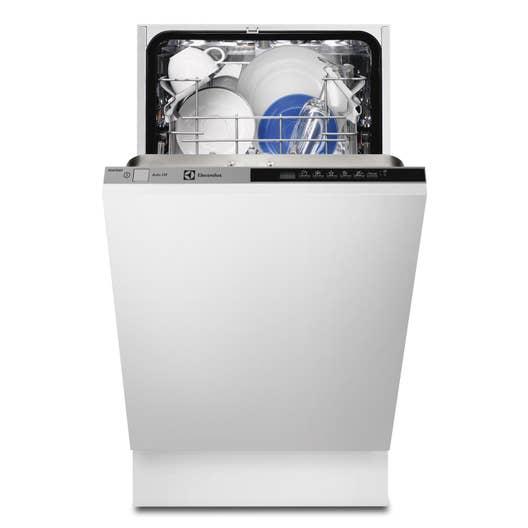 lave vaisselle int grable cm electrolux esl4500lo 9 couverts leroy merlin. Black Bedroom Furniture Sets. Home Design Ideas