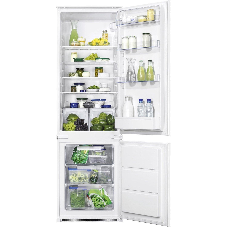 réfrigérateur intégrable faure fbb28441sa   leroy merlin