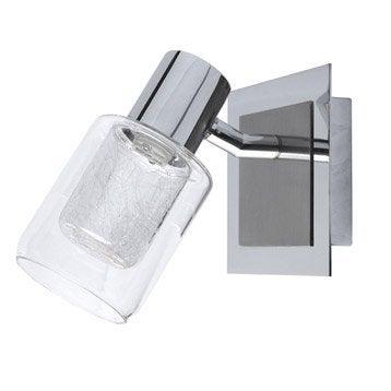 Applique Noa, Halogène 1 x 33 W, G9 blanc chaud