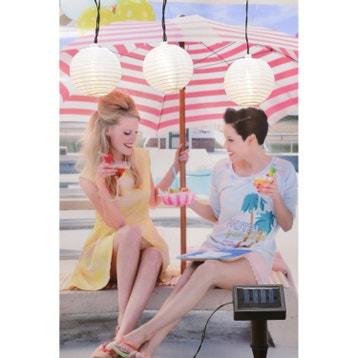 Eclairage solaire lampe projecteur applique au meilleur prix leroy merlin - Guirlande solaire leroy merlin ...