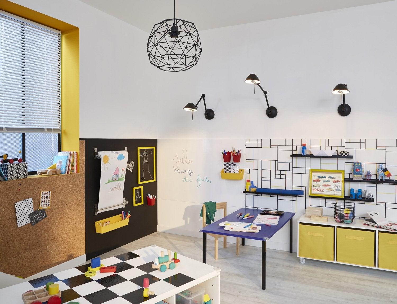 Décoration En Stickers Muraux · Salle De Jeu Multicolore: Une Salle De Jeux  Multicolore Pour Le Plaisir De Vos