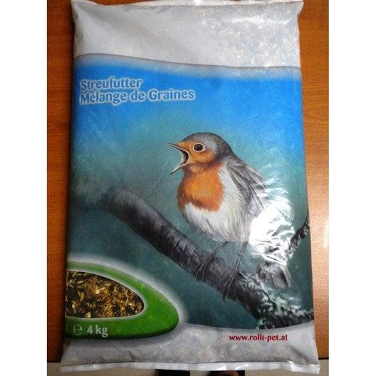 Aliments pour oiseaux plastique