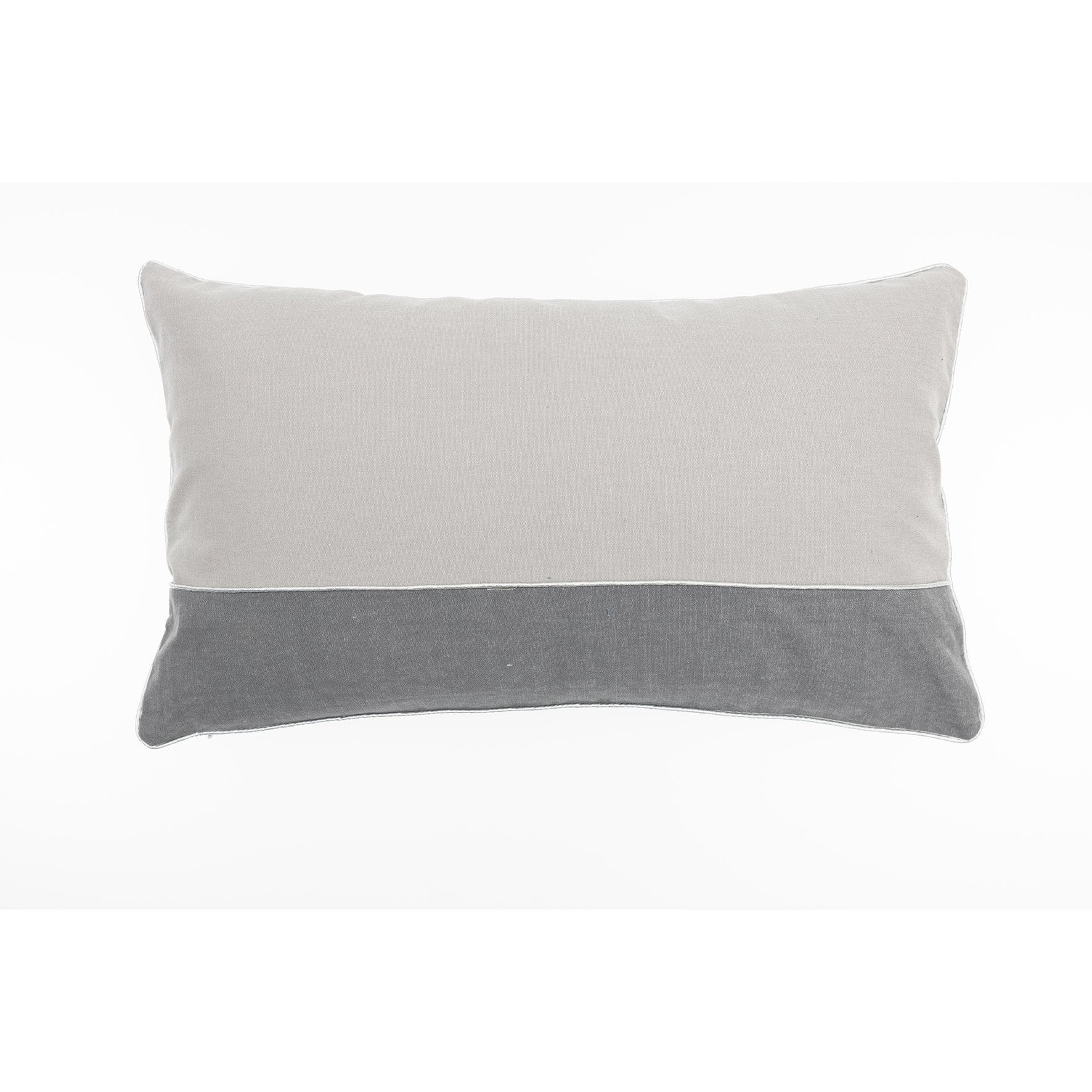 Coussin Athen JBY, gris l.50 x H.30 cm