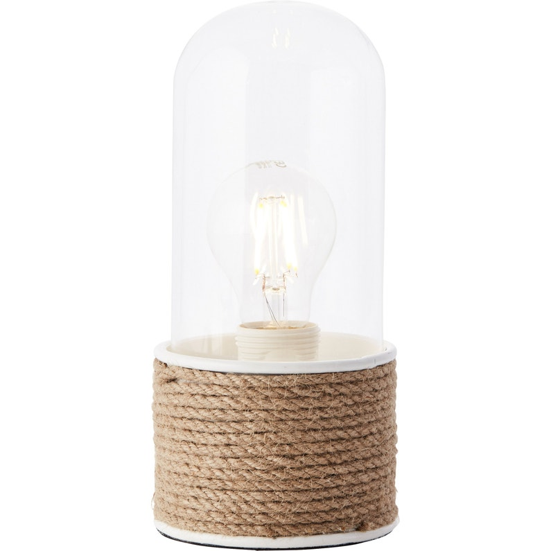 Lampe E27 à Poser Blanc Tobin Brilliant