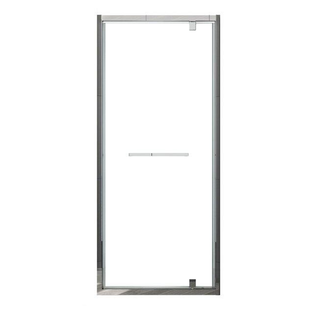 Porte De Douche Pivotante 90 Cm Transparent Lenox