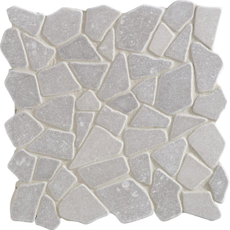 Galets sol et mur Opus gris | Leroy Merlin