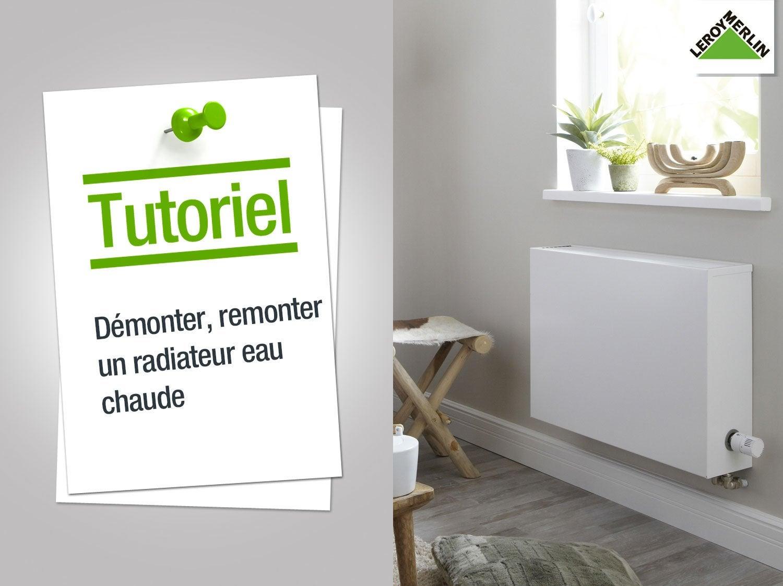 Radiateur tous les radiateurs leroy merlin - Demonter un radiateur electrique ...