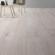Sol PVC blanc timber, GERFLOR Texline hqr l.4 m
