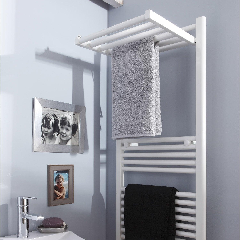 s che serviettes eau chaude acier deltacalor stendino blanc 570 w leroy merlin. Black Bedroom Furniture Sets. Home Design Ideas