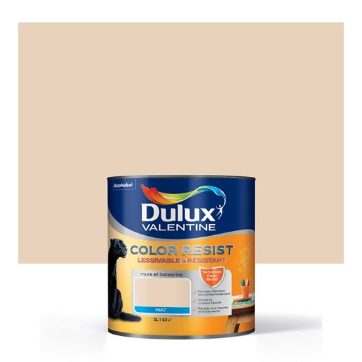 Peinture sable du d sert dulux valentine color resist 1 l for Dulux valentine ultra resist fer