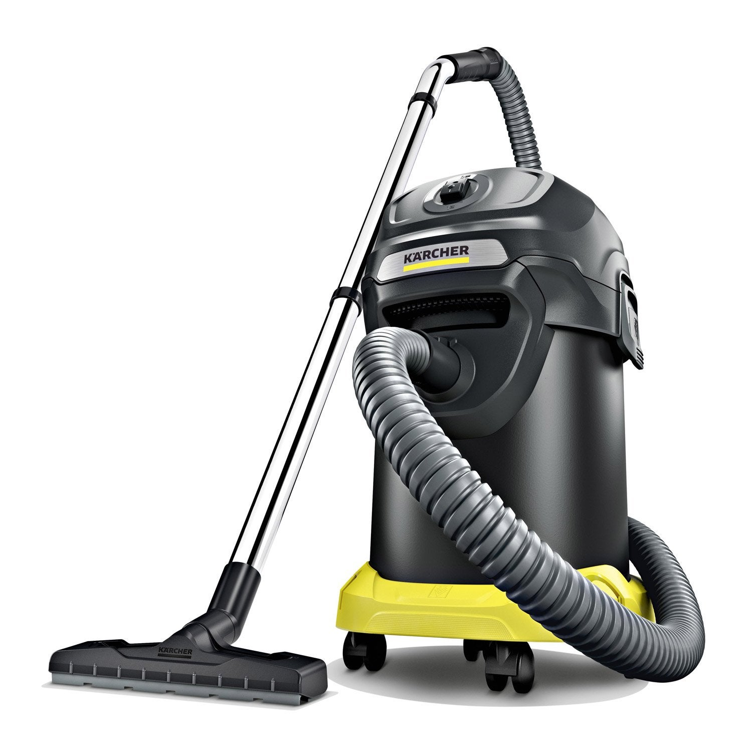 aspirateur de cendres karcher ad 4 prenium 17 l leroy. Black Bedroom Furniture Sets. Home Design Ideas
