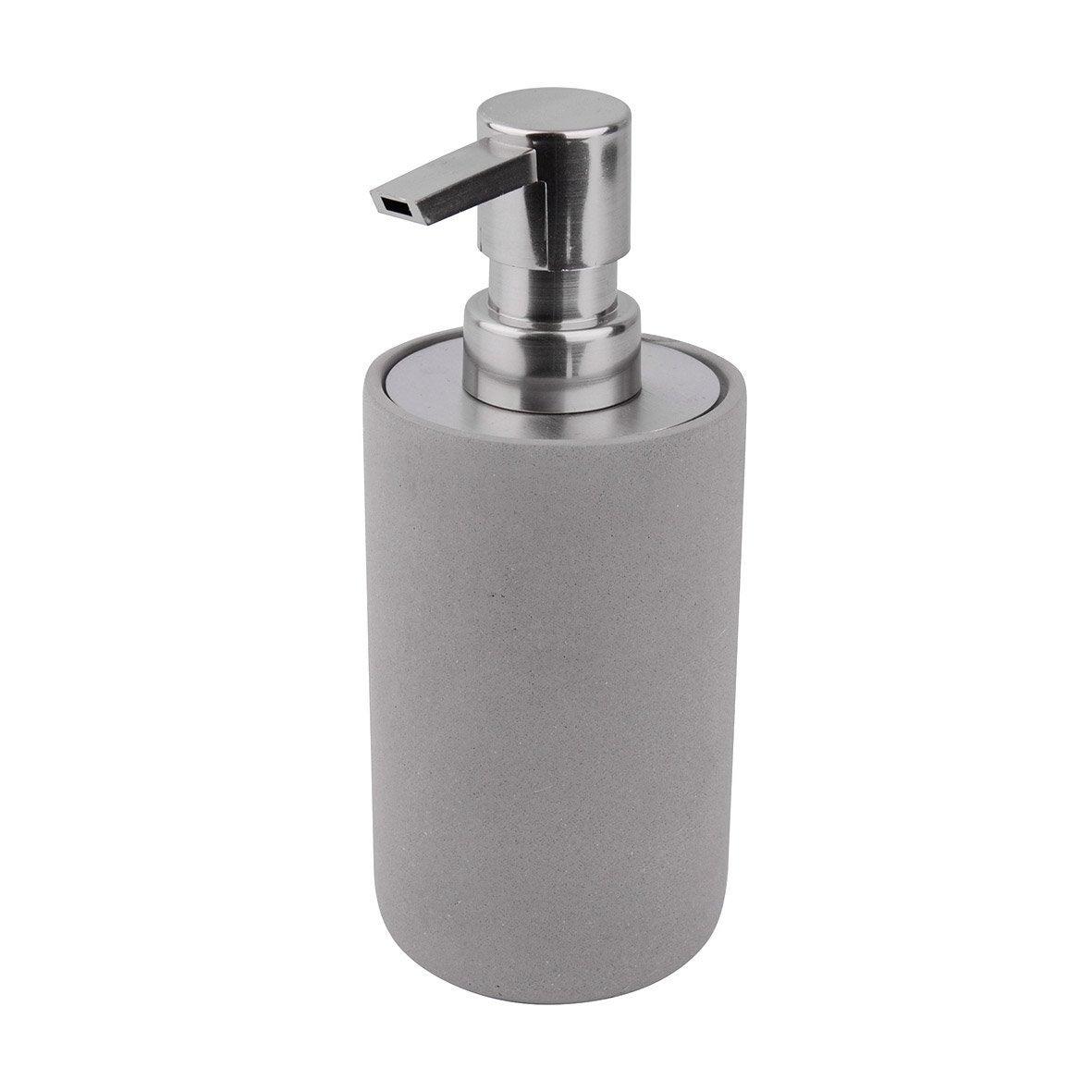 Distributeur de savon béton Apollon, gris