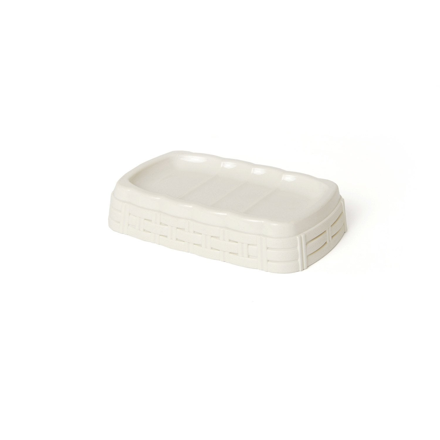 Porte-savon plastique Cottage, cream n°5