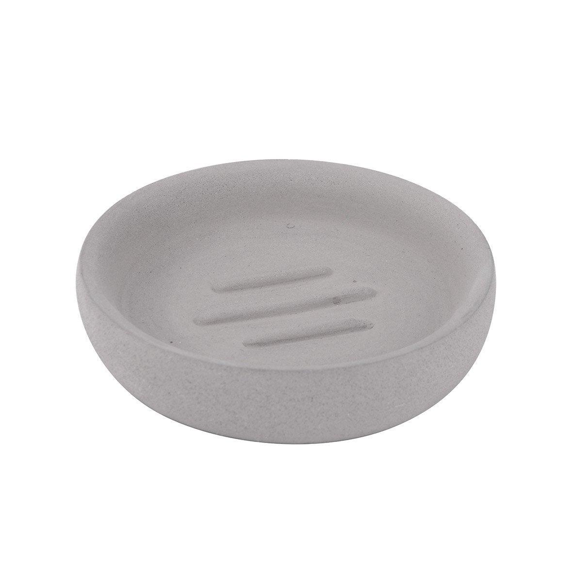 Porte-savon béton Apollon, gris clair