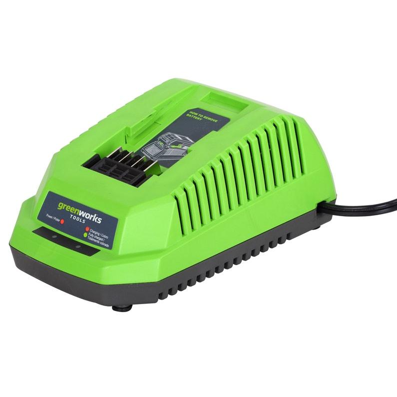 Chargeur De Batterie Greenworks G40uc 40 V
