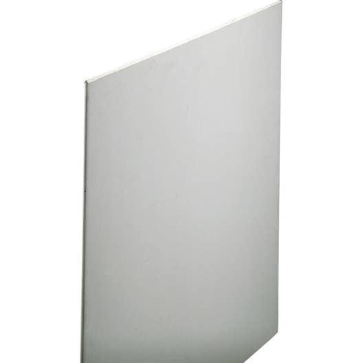 Plaque De Platre Ba10 dedans plaque de plâtre ce 2.5 x 1.2 m, ba10, entraxe 40 cm | leroy merlin