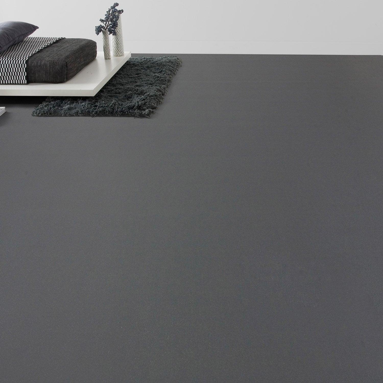 Sol PVC gris zingué l.4 m | Leroy Merlin