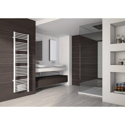 sèche-serviettes électrique avec soufflerie irsap wings, 500 + ... - Chauffer Une Salle De Bain Avec Un Seche Serviette