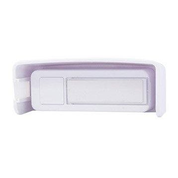 Bouton de sonnette sans fil DI-O-CHACON, blanc