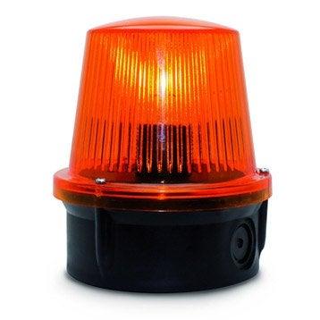 Accessoires de motorisation t l commande portail leroy - Feu orange clignotant ...