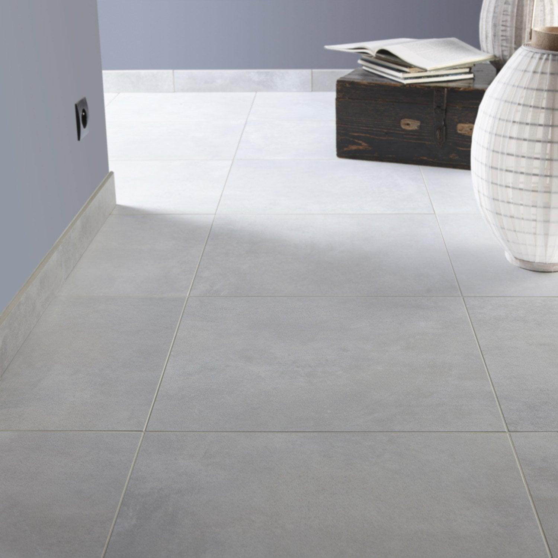 carrelage sol et mur gris brume effet b ton live x l. Black Bedroom Furniture Sets. Home Design Ideas
