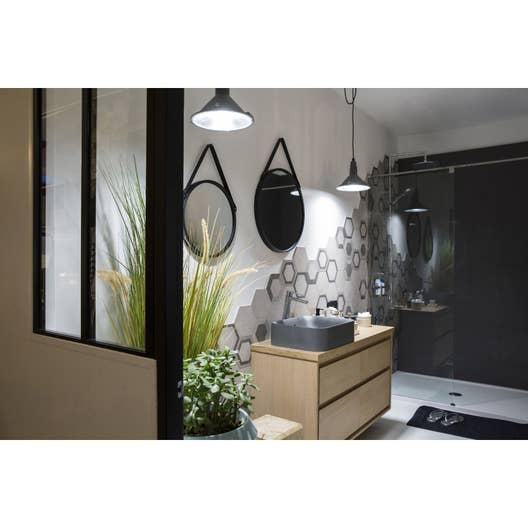 verri re atelier aluminium noir vitrage non fourni h x l m leroy merlin. Black Bedroom Furniture Sets. Home Design Ideas