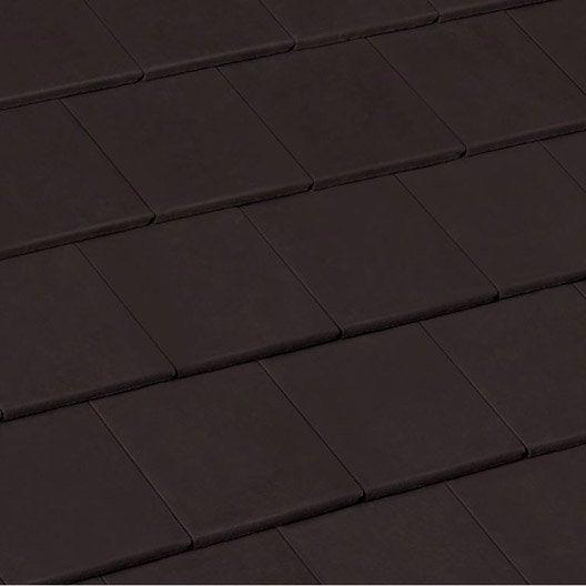 tuile monier noir profond innotech 10 leroy merlin. Black Bedroom Furniture Sets. Home Design Ideas
