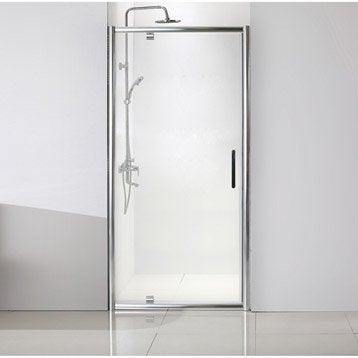 Porte de douche au meilleur prix leroy merlin for Porte de douche vitree