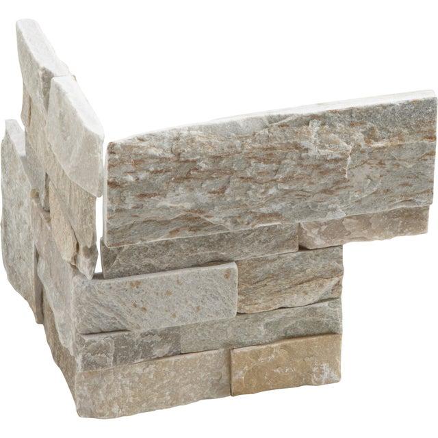 plaquette de parement int rieur adh sive en b ton brico d p t. Black Bedroom Furniture Sets. Home Design Ideas
