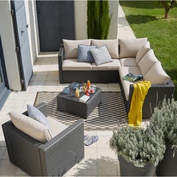 Promotion Salon De Jardin Resine Tressee au meilleur prix | Leroy Merlin