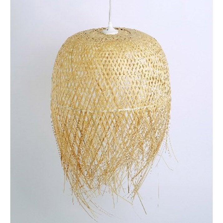 Suspension, nature bambou naturel SAMPA HELIOS 1 lumière(s) D.27 cm