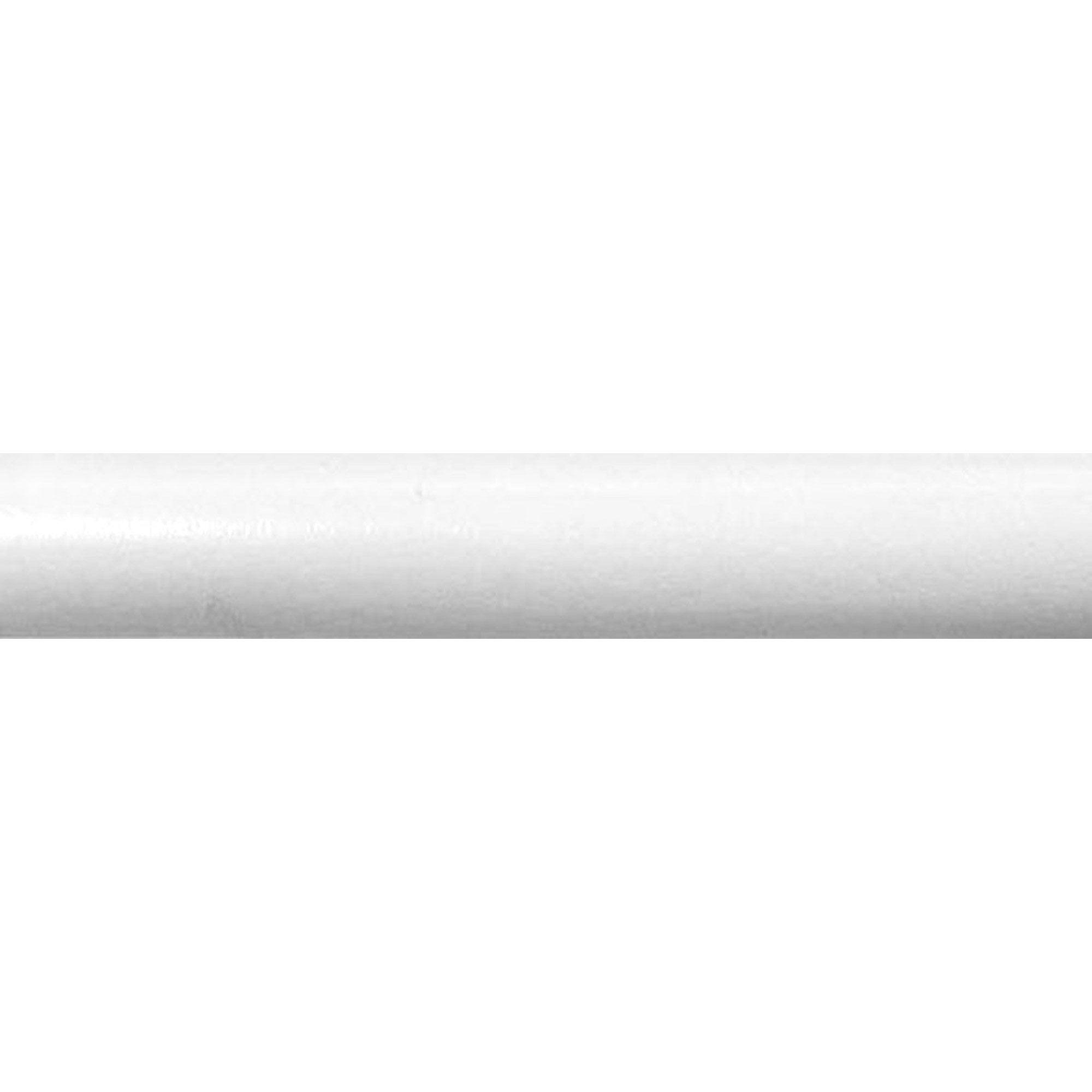 Tringle à rideau blanc satiné 150 cm INSPIRE