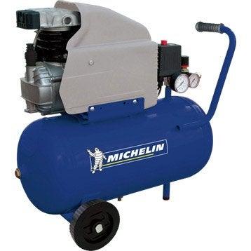 Compresseur de loisirs MB 24 MICHELIN, 2cv, cuve de 24 L