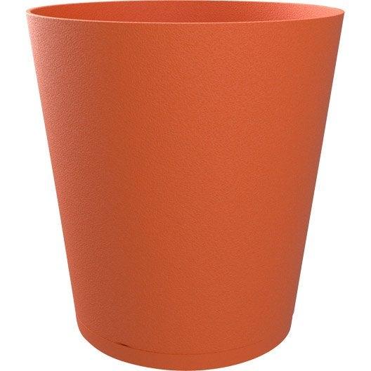 bac plastique grosfillex x cm orange br l. Black Bedroom Furniture Sets. Home Design Ideas