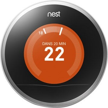 Thermostat connecté et intelligent filaire NEST Learning thermostat 2