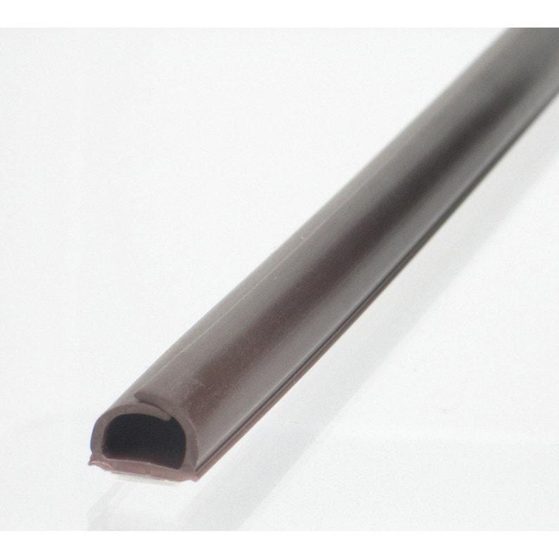 Cache Câble Wengé Pour Moulure H 1 X P 100 Cm