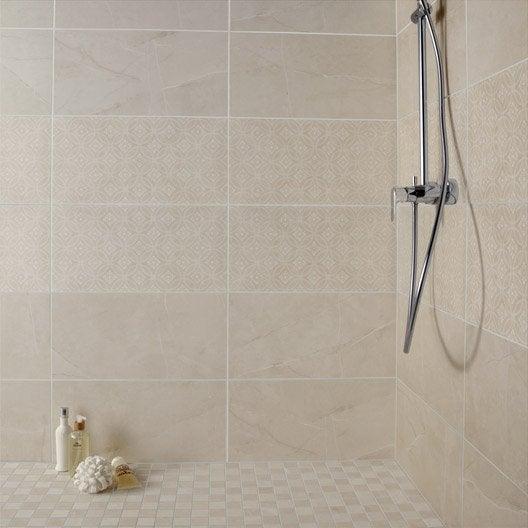 Faïence mur beige, Colysée l.30 x L.60 cm
