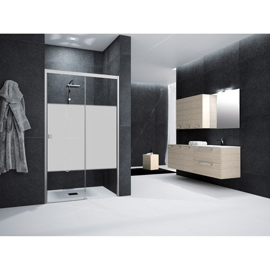 porte de douche coulissante 120 cm s rigraphi neo. Black Bedroom Furniture Sets. Home Design Ideas