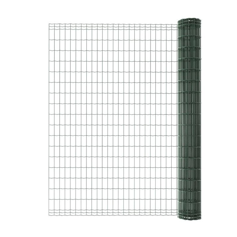 grillage rouleau soud luxor nature vert h 1 8 x m maille x leroy merlin. Black Bedroom Furniture Sets. Home Design Ideas