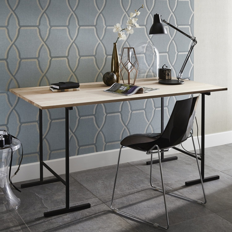 Plateau de table chêne pleine lame, L.160 x l.80 cm x Ep.22 mm