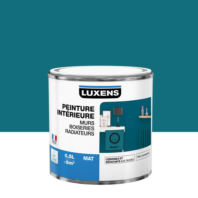 Peinture Mur Boiserie Radiateur Multisupports Luxens Miami 1 Mat 0 5 L Leroy Merlin