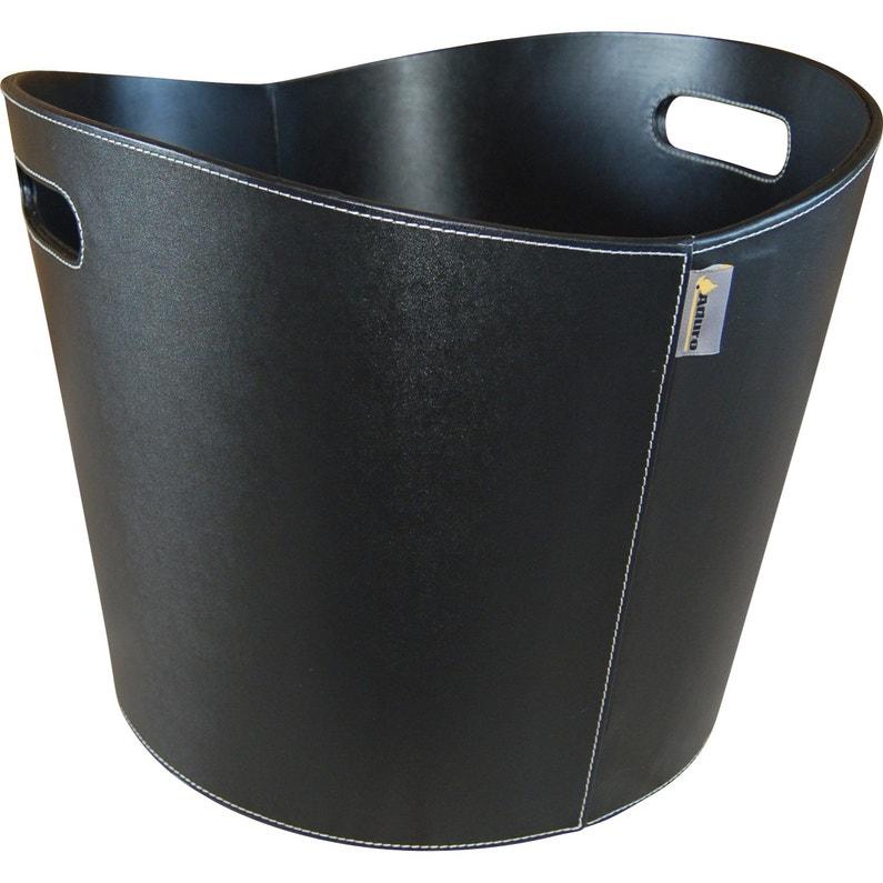 Panier à Bûches Noir Aduro Proline L39 X H32 Cm