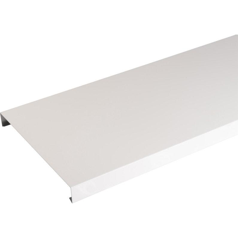 Couvertine Aluminium 30 X 270 Scover Plus Blanc L2 M