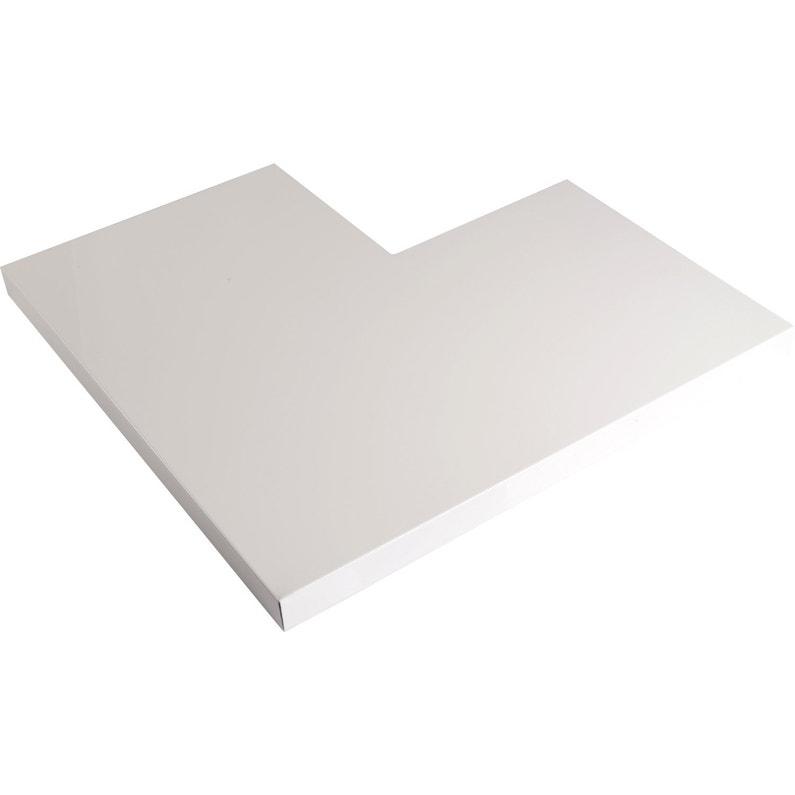 Angle Pour Couvertine Aluminium 30 X 270 Scover Plus Blanc L045 M