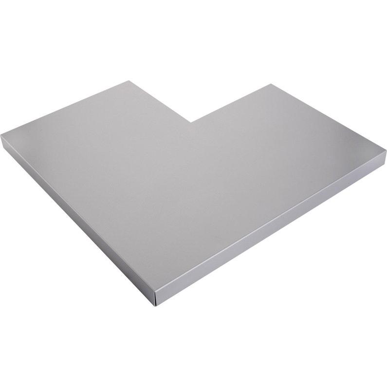 Angle Pour Couvertine Aluminium 30 X 270 Scover Plus Gris L045 M